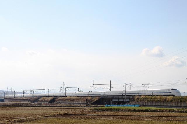3/17のダイヤ改正で引退する東海道新幹線300系を撮影♪ ('12.2.19)