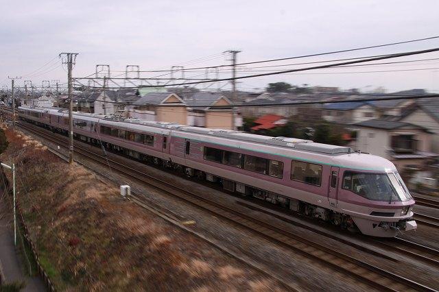 485系『リゾートエクスプレスゆう』と『宴』を東海道本線で撮影♪ ('12.2.26)